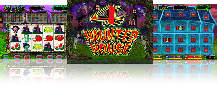 4 HAUNTED HOUSE